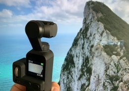 Osmo Pocket camera and Gibraltar