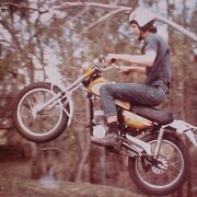 Ian OKeefe on Yamaha AT